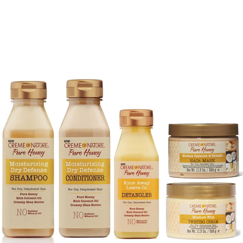 Creme of Nature Pure Honey Collection Bundle Deal