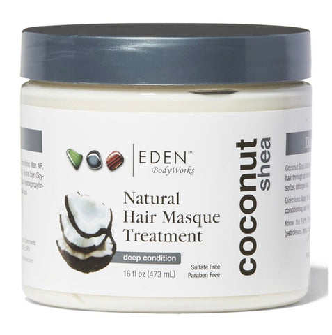 Eden Bodyworks Coconut Shea Natural Hair Masque Treatment