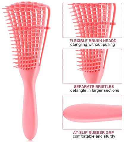 Natural Hair Detangling Brush