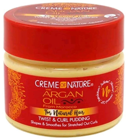 Creme of Nature Argan Oil Twist & Curl Pudding