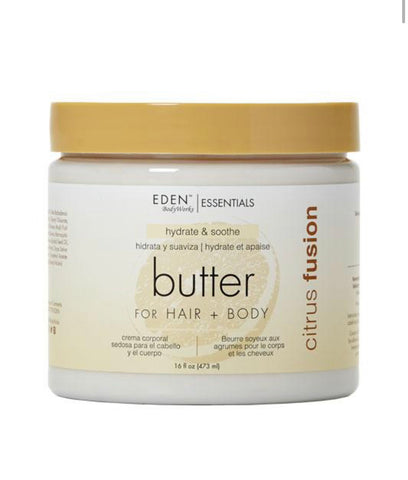 Eden Bodyworks Citrus & Fusion Hydrate & Smooth Butter