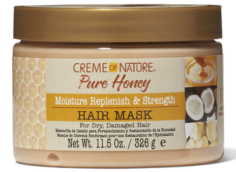 Creme of Nature Pure Honey Moisture Replenish & Strengthen Hair Mask