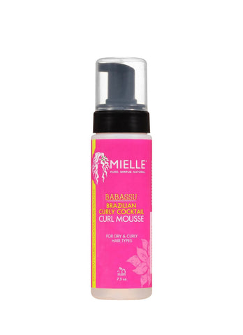 Mielle Organics Babassu Brazilian Curly Cocktail Curl Mousse