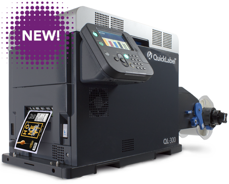 QL300 Quicklabel Full Colour Label Printer (Excludes White)