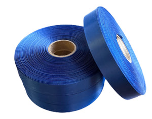 10mm x 100m Royal Blue Polysatin