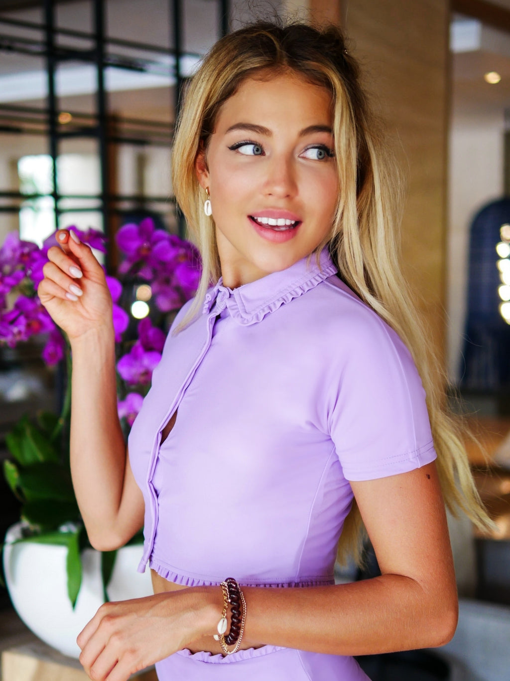 Chemise Kate- lilas