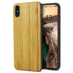WOOD PHONE CASE WOODEN iPHONE CASE Bamboo Yfwood Real Wood iPhone 10 X Case Best Ultra Thin Slim iPhone Cases