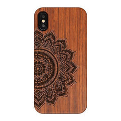 WOOD PHONE CASE WOODEN iPHONE CASE BB / For iPhone 7 Real Wooden Case For iPhone 7 Carved Unique Handmade iPhone Covers