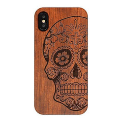 WOOD PHONE CASE WOODEN iPHONE CASE KL / For iPhone SE Handmade Wood Case For iPhone SE Carved Best Wooden iPhone Covers