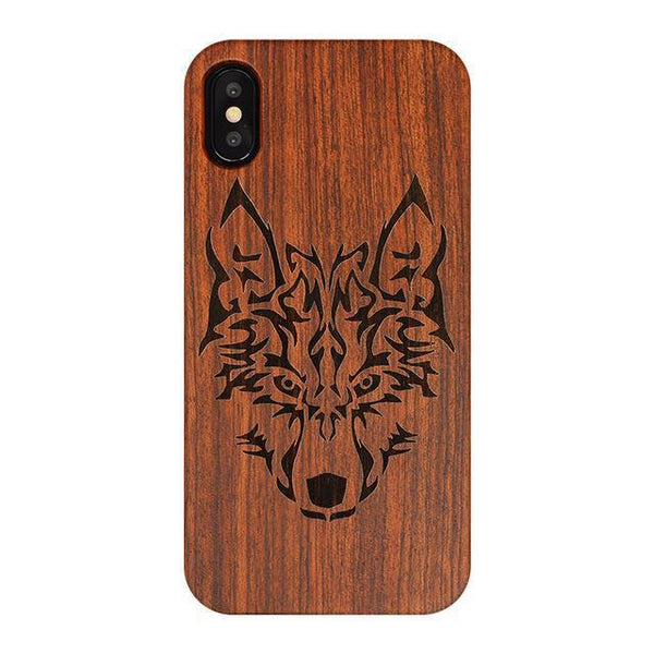 WOOD PHONE CASE WOODEN iPHONE CASE LT / For iPhone 6S Plus Full Wooden Case For iPhone 6S Plus Natural Handcrafted iPhone Covers