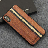 WOOD PHONE CASE WOODEN iPHONE CASE Rosewood Maple 2 / for iPhone X YFWOOD Real Wood Case for iPhone X 10 Best Wooden iPhone Covers