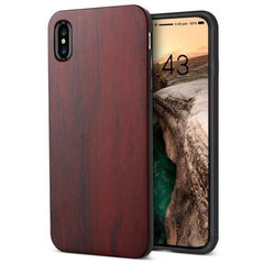 WOOD PHONE CASE WOODEN iPHONE CASE Rosewood Yfwood Real Wood iPhone 10 X Case Best Ultra Thin Slim iPhone Cases