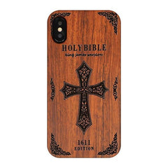 WOOD PHONE CASE WOODEN iPHONE CASE SJ / For iPhone 6 Plus Wooden Case For iPhone 6 Plus Carved Eco Friendly Natural iPhone Cover