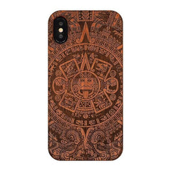 WOOD PHONE CASE WOODEN iPHONE CASE ST / For iPhone 6S Lux Wooden Case For iPhone 6S Carved Natural Handmade iPhone Covers