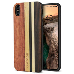 YFWOOD Real Wood Case for iPhone X XR XS Max Best Wooden iPhone Covers