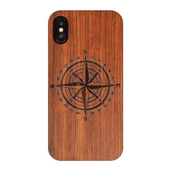 WOOD PHONE CASE WOODEN iPHONE CASE ZN / For iPhone 6 All Wooden Case For iPhone 6 Carved Handmade Luxury iPhone Covers