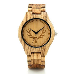 WOOD WATCH ALL WOOD WATCHES 1 Bobo Bird LK29 Mens Fashion Zebra Wooden Watches Great Gift For Him