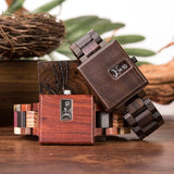 WOOD WATCH ALL WOOD WATCHES W-R23-1 Bobo Bird R23 Rectangular All Wooden Wristwatches for Men and Women
