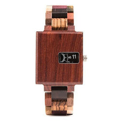 WOOD WATCH ALL WOOD WATCHES W-R23-2 Bobo Bird R23 Rectangular All Wooden Wristwatches for Men and Women