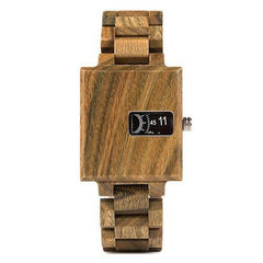 WOOD WATCH ALL WOOD WATCHES W-R23-3 Bobo Bird R23 Rectangular All Wooden Wristwatches for Men and Women