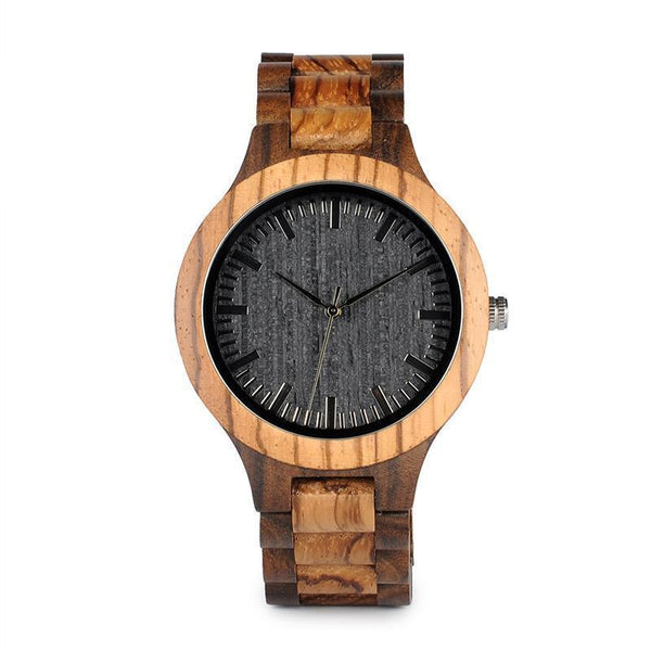 WOOD WATCH ALL WOODEN WATCHES 1 Bobo Bird D30 Handmade All Wood Watch With Hardlex Great Gift For Him