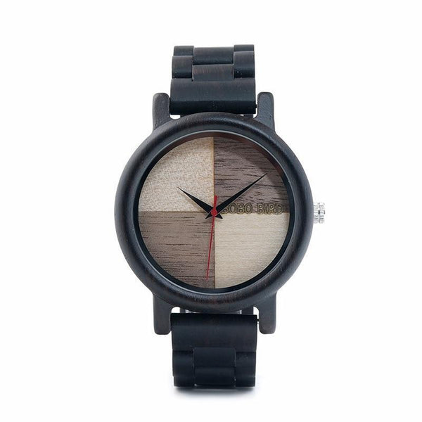 WOOD WATCH ALL WOODEN WATCHES 1 Bobo Bird N07 Handmade Ebony Wood Watch Great Gift For Men