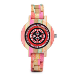 WOOD WATCH ALL WOODEN WATCHES 1 Bobo Bird P08 Handmade Colorful Bamboo Wood Watch For Women