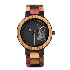 WOOD WATCH ALL WOODEN WATCHES 1 Bobo Bird P14 Casual Handmade All Wood Watch Great Gift For Him