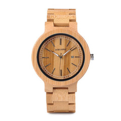 WOOD WATCH ALL WOODEN WATCHES 1 Bobo Bird P23 Casual Handmade All Wood Watch For Men And Women