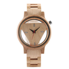 WOOD WATCH ALL WOODEN WATCHES 1 Womens All Wood Watch Natural Handcrafted Eco-Friendly High Quality