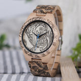 WOOD WATCH ALL WOODEN WATCHES Bobo Bird CD07 Casual Handmade All Wooden Watch For Men