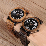 WOOD WATCH ALL WOODEN WATCHES Bobo Bird O21-22 Natural Handmade All Wooden Watch For Men