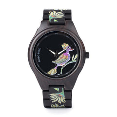 WOOD WATCH ALL WOODEN WATCHES Bobo Bird P06 Handmade Colorful All Wood Watch For Men And Women
