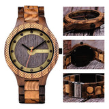 WOOD WATCH ALL WOODEN WATCHES Bobo Bird Q09 Eco-Friendly Handmade All Wood Watch Great Gift For Men