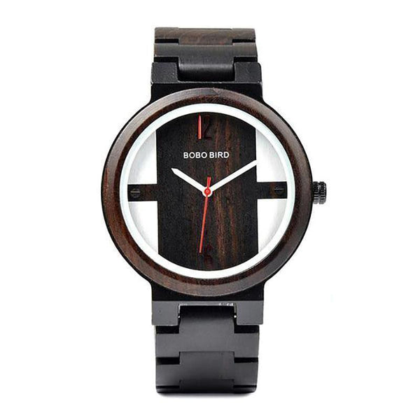 WOOD WATCH ALL WOODEN WATCHES Bobo Bird Q19 Handmade Wood Watch With Hardlex Window For Him