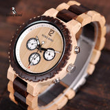 WOOD WATCH ALL WOODEN WATCHES Bobo Bird R08 Natural Handmade Wood Watch Great Gift For Men And Women