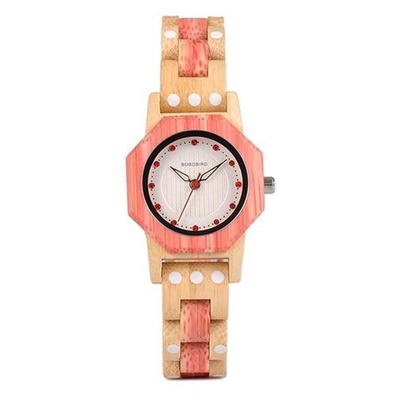 WOOD WATCH ALL WOODEN WATCHES Q02-2 Bobo Bird Q02 Natural Handmade Casual Wooden Watches For Women