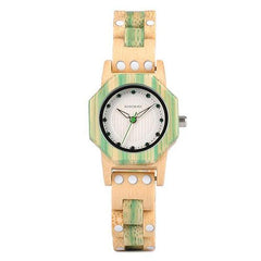WOOD WATCH ALL WOODEN WATCHES Q02-3 Bobo Bird Q02 Natural Handmade Casual Wooden Watches For Women