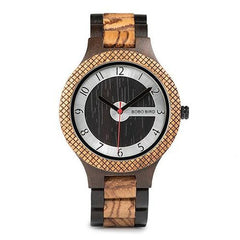 WOOD WATCH ALL WOODEN WATCHES W-Q07-2 Bobo Bird R07 Engraved Handmade Wood Watch Great Gift For Men