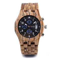 WOOD WATCH ALL WOODEN WATCHES ZB Bewell 109D Multifunction Mens Luxury Wooden Watches With Date Display