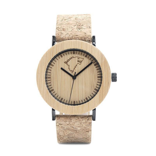 WOOD WATCH LEATHER BAND WATCHES 01 Bobo Bird K16 Resin Band Casual Wood Watch For Women