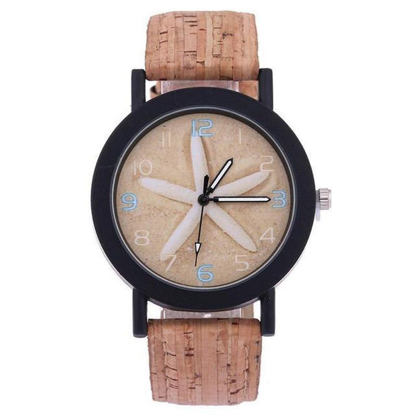 WOOD WATCH LEATHER BAND WATCHES 3 Shellhard Bamboo Wood Watch With  Leather Band Strap For Women