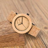 WOOD WATCH LEATHER BAND WATCHES Bobo Bird K16 Resin Band Casual Wood Watch For Women