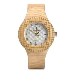 WOOD WATCH LEATHER BAND WATCHES iQ17-2 Watch Bobo Bird iQ17 Luxury Leather Band Wood Watch For Women