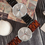 WOOD WATCH STAINLESS STEEL WATCHES Bobo Bird O15 Natural Handmade Stainless Steel Case Wood Watch For Men