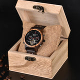 WOOD WATCH STAINLESS STEEL WATCHES Bobo Bird Q27 Mechanical Stainless Steel Wood Watch For Men