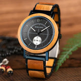 WOOD WATCH STAINLESS STEEL WATCHES Bobo Bird R12-14 Rectangular Stainless Steel Wood Watches For Couples