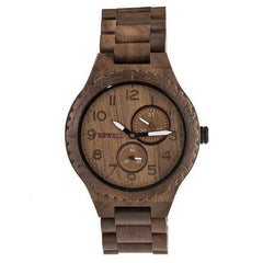 WoodWatchBox.com ALL WOOD WATCHES 3 BEWELL ZS-W15 Mens Wood Watches Top Brand Luxury Quartz Wood Wristwatch