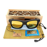 WoodWatchBox.com Bobo Bird BG21 Eco Friendly Bamboo Wooden Sunglasses For Men