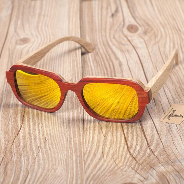 69e32fee981 Previous. WoodWatchBox.com WOOD SUNGLASSES orange Bobo Bird G03 Uv400  Unisex All Wooden Frame Polarized ...